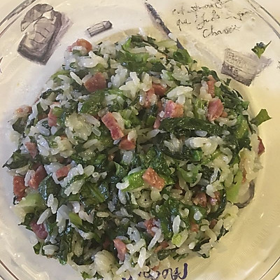 菜饭(莴笋叶)