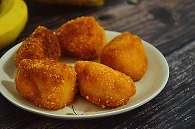 香甜诱人香蕉糯米糍