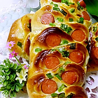 花式香肠面包的做法图解12