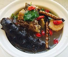海参牛尾汤的做法