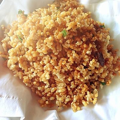 快手零食:香脆炒米