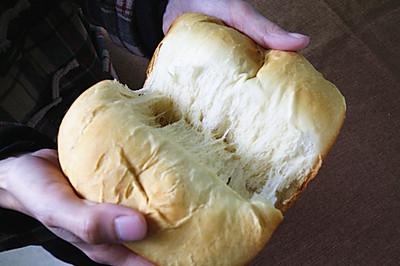 面包机做中种吐司(北海道中种吐司)