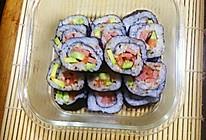 三文鱼牛油果寿司的做法