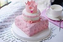 公主翻糖蛋糕的做法