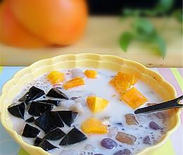 椰浆芒果芋圆的做法