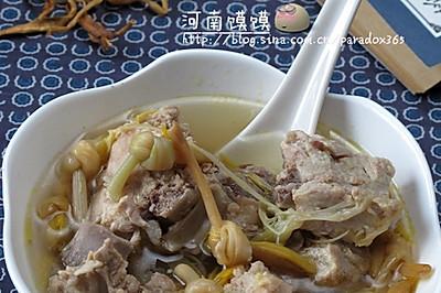 金花排骨汤