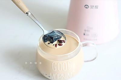 香浓红豆仙草奶茶