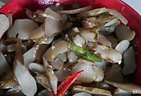 尖椒洋姜片的做法