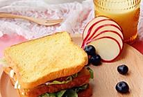 #利仁电饼铛试用之活力早餐三明治的做法