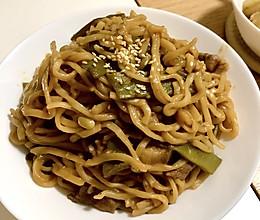 #巨下饭的家常菜#扁豆焖面的做法