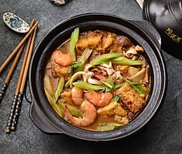 【海鲜炖豆腐】#今天吃什么#的做法
