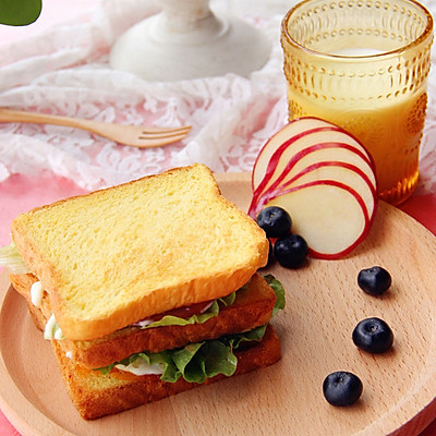 #利仁电饼铛试用之活力早餐三明治