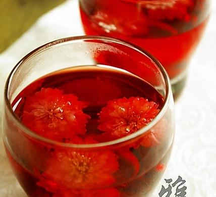菊花洛神茶