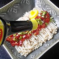剁椒金针菇 #美极鲜味汁#的做法图解5