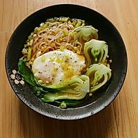 #轻食系王者#清汤蛋包素面的做法图解7