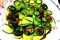 #我要上首焦#凉拌黄瓜卷的做法