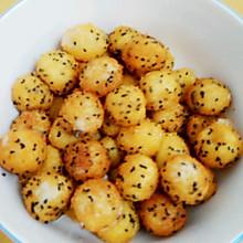 元宵节之干吃汤圆(炸汤圆)