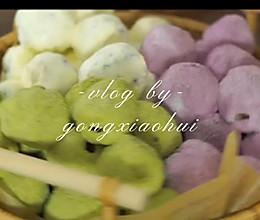 """三色奶枣#甜蜜暖冬,""""焙""""感幸福#的做法"""