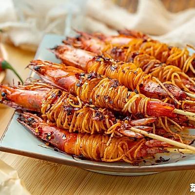 香辣绷带大虾|香脆嫩滑