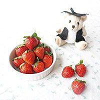 草莓真果粒(草莓牛奶)的做法图解1