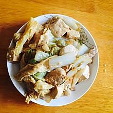 腐竹豆腐煲