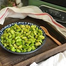 豉油蒸蚕豆