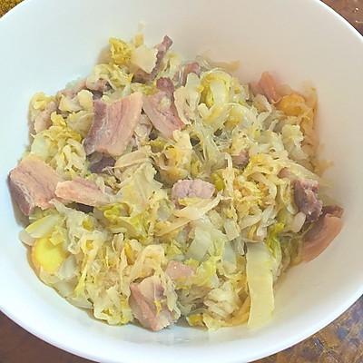 【酸菜猪肉炖粉条】