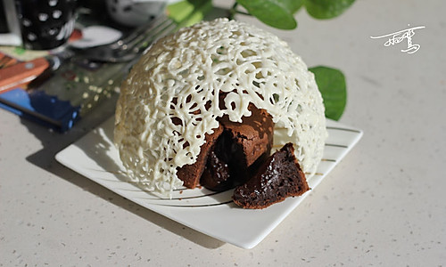 巧克力珍珠球VS巧克力熔岩蛋糕 的做法