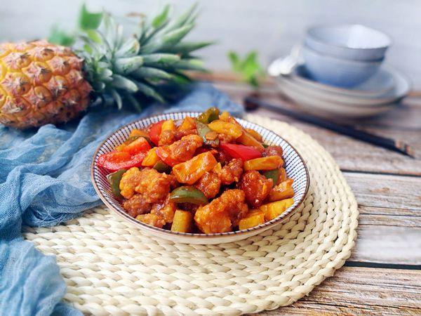 母亲节献礼之菠萝咕噜肉的做法图解24