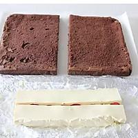可可奶冻蛋糕卷的做法图解22