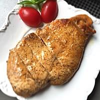 香煎滑嫩鸡胸肉-复刻健身厨男的做法图解4
