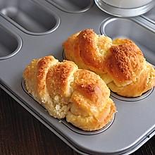 椰蓉面包条#美的绅士烤箱#