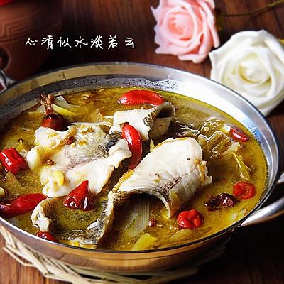 酸菜鱼---冬季暖身