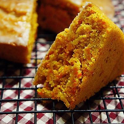 坚果胡萝卜蛋糕---健康与美味亦可得兼(中筋面粉版)