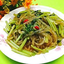 #中秋团圆食味#东北-芹菜炒粉条