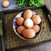 水煮鸡蛋不开裂,好剥皮的妙招