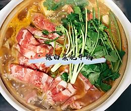 独家 辣白菜肥牛锅的做法