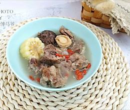 鲍鱼仔花菇玉竹排骨汤的做法