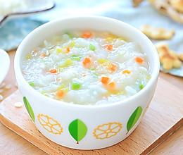 鲈鱼豌豆粥的做法