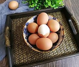 水煮鸡蛋不开裂,好剥皮的妙招的做法