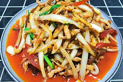 【米饭伴侣】泡椒肉丝,酸辣开胃