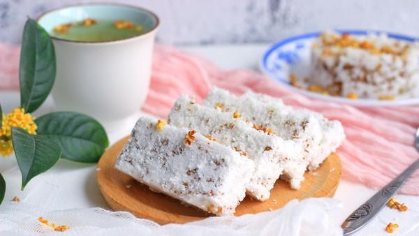 《甄嬛传》里眉庄最拿手的桂花糕,原来是这么做的!的做法