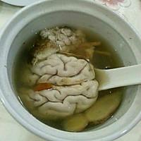 天麻炖猪脑的做法图解5