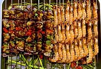 家常烧烤大餐烤肉串烤虾|养老公不重样的做法
