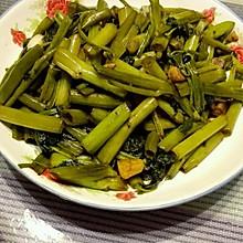 蒜蓉爆炒空心菜