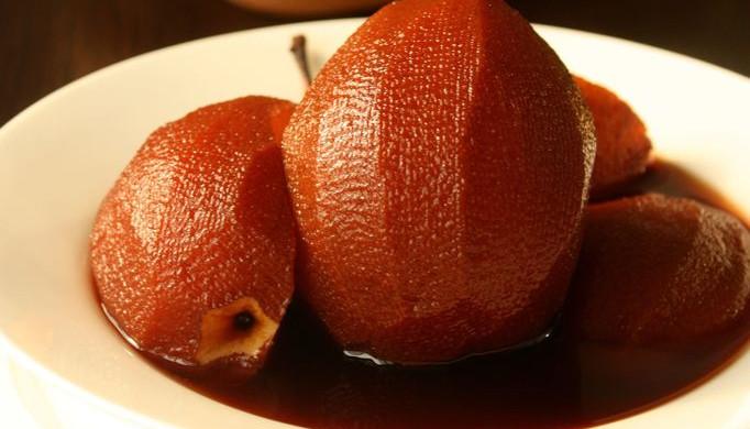 节后轻食,从春天开始,清口解油腻--红酒梨