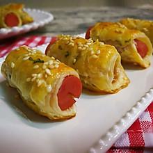 飞饼香肠卷