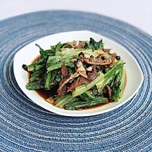 #节后清肠大作战# 豆豉鲮鱼油麦菜