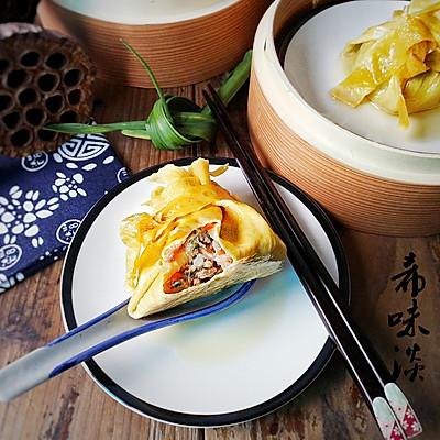 豆腐皮包子