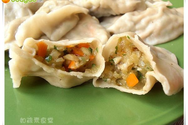 玉瓜素饺的做法